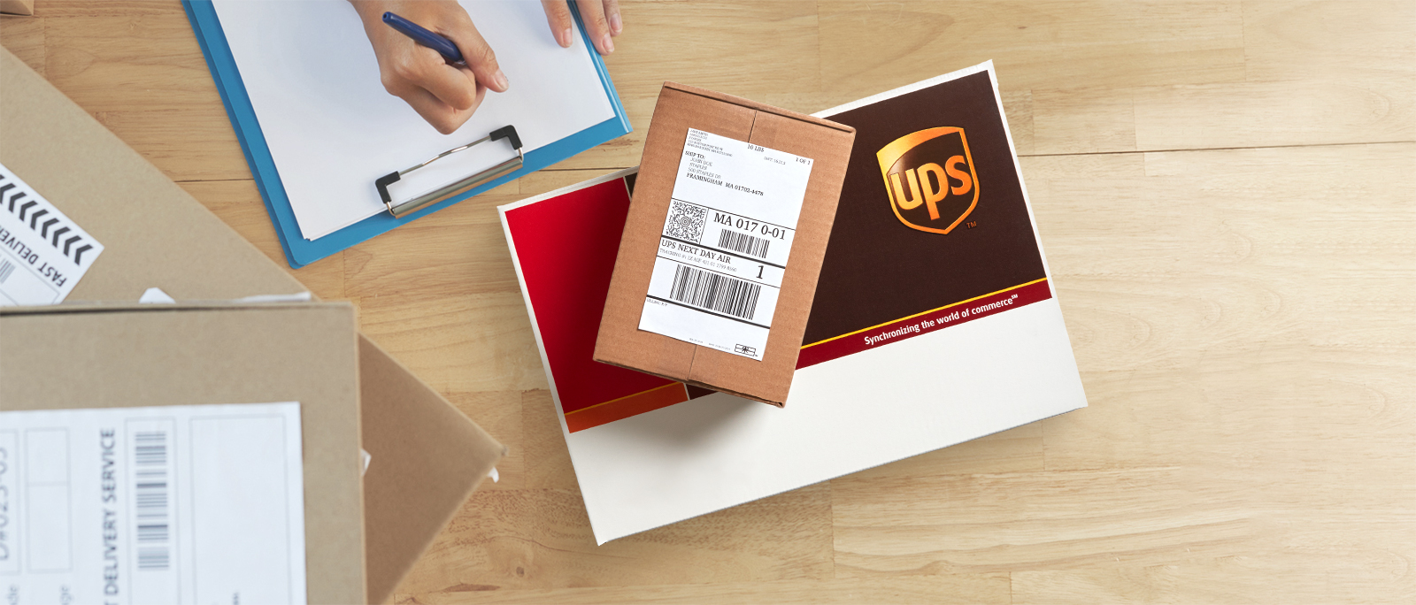 20% off UPS expedited shipping services